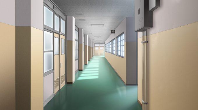 学校 教室前廊下